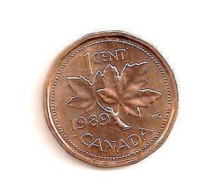 Canadian Penny Coins Canada Ebay