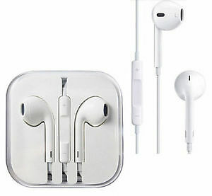 New Earpods Earbuds Earphones For Apple IPhone 6 6S 5S Headphone