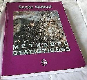 Méthodes statistiques Serge Alalouf