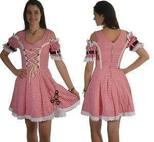 landhauskleid kleider dirndl ebay. Black Bedroom Furniture Sets. Home Design Ideas
