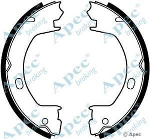 Apec Braking OE Quality Replacement Brake Shoe Set - SHU695