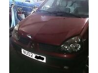 Renault Clio 1.4 16V Engine K4J B 7/11 Breaking For Parts (2002)
