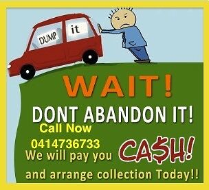 CASH FOR UNWANTED SCRAP CAR UTE VAN 4X4 CALL ME FOR TAKED A WAY Berala Auburn Area Preview