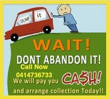 CASH FOR UNWANTED SCRAP CAR VAN UTE 4x4 CALL ME FOR BEST PRICE NOW Fairfield Fairfield Area Preview