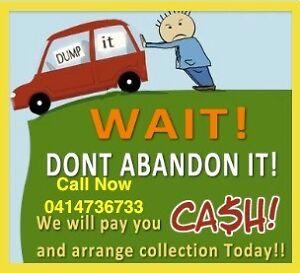 CASH FOR UNWANTED SCRAP CAR VAN UTE CALL ME FOR BEST PRICE NOW Berala Auburn Area Preview