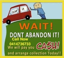 CASH FOR UNWANTED SCRAP CAR UTE VAN 4X4 CALL ME FOR BEST PRICE NOW Berala Auburn Area Preview