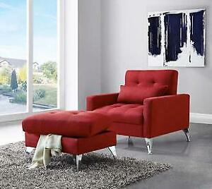 WAS $550 Brand New Avesta Reclining Chair with Ottoman now at dex10