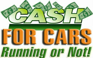 WE PAY CASH FOR ALL VEHICLES RUNNING OR NOT... CALL FOR A QUOTE