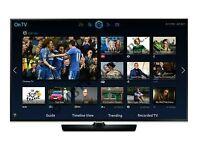 "Samsung 32"" LED smart wifi built USB MEDIA PLAYER HD FREEVIEW and freesat Screen mirror full hd"