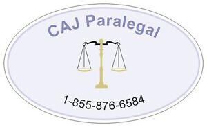 Legal Services Caj Paralegal