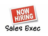 Sales Executives Urgently Required