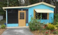 Manufactured home to sale at Spring Hill Florida
