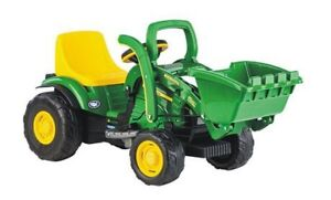 John Deere electric riding loader