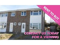 3 Bedroom Property available as a Part Rent, Part Buy, 5 YEARS TO GET YOUR OWN MORTGAGE!!