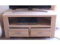 Corner unitnTV, DVD with drawers