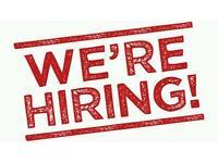 Receptionist /Admin / Sales advisors / Leaflet Distributors