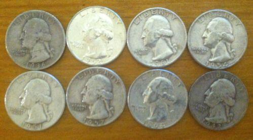 Junk Silver Quarters Ebay
