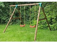 Little tikes double swing and ladder set brand new