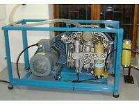 Bauer contri Bristol mako compair etc breathing air compressor WANTED scuba dive diving
