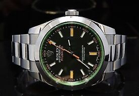 swiss milgauss stainless steel
