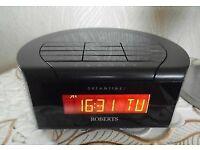Roberts Dab / FM Radio Clock Alarm