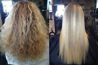 Keratin treatments 50$