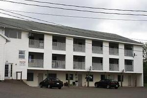 Two bedroom apartments available for rent.