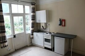 Large Double Bedsit with Patio Doors to the Garden
