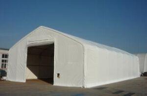 Dome - Storage Building Tent - Bâtiment d'entreposage 50x104x23'