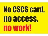 ATTENTION Jobseekers get 50% off CSCS green card 1 day training & testing, call 07751589394