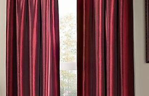 "Argentina Pole Top Room Darkening Window Panels 84"" x 2"