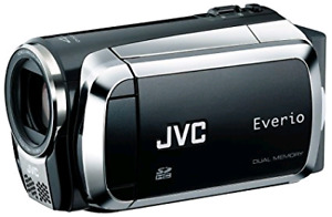 JVC Everio S video camera with box and charger