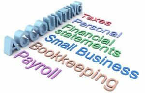 Personal income tax, Corporate tax, Bookkeeping, Payroll Service