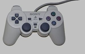 Original PS-One Controller Dual Shock White PS1 sony