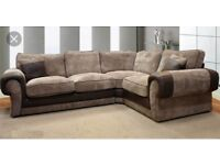New Ashley corner couch with FREE #FOOTSTOOL
