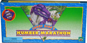 Discovery Toys- Count Dino's Number Marathon Game-complete London Ontario image 2