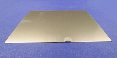 316 Stainless Steel Sheet Annealed .030 Thick X 12 Wide X 12 Length 1 Unit