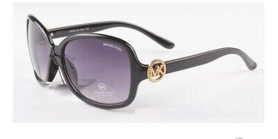 Michael Kors Sunglasses MK Black Gold / Gray Gradient 57 mm