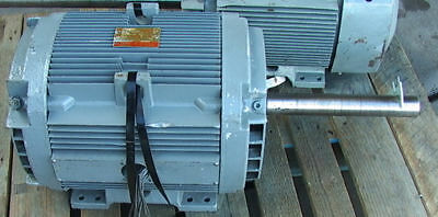 13 Long Shaft 30hp Ge Electric Motor 3540rpm 230460v