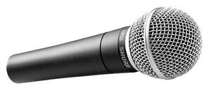 Looking for an SM58 or SM57 mic.