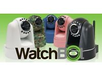 WatchBot Home Security Camera 360° Wireless CCTV WiFi Baby Monitor Quality PTZ