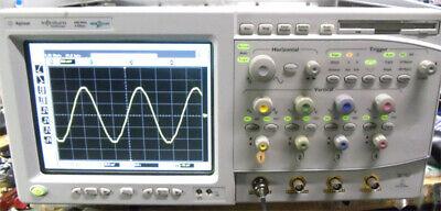 Hp Agilent Infiniium Oscilloscope 54831m 600 Mhz 4 Ghz Sample Rate
