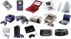 Recherche, Jeux et Consoles Nintendo, Atari Sega, Playstation ++