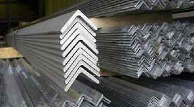 Alloy 304 3 Brushed Stainless Steel Angle - 2 X 2 X .063 X 90