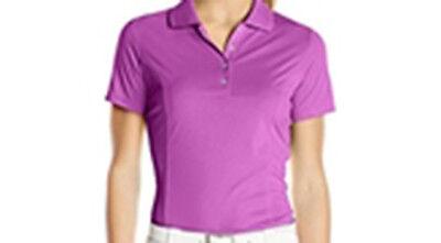Adidas Mujer Essentials 3 Rayas Polo (S) B83321 Rosa