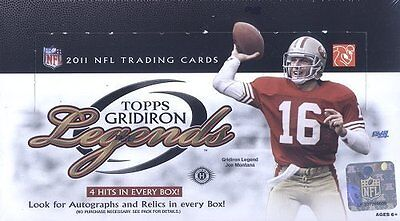 - 2011 Topps Gridiron Legends Football Hobby Box