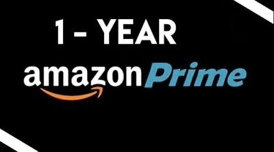 Amazon Prime and Prime Video - 1 Year Membership FAST DELIVERY!!!