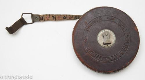 Vintage Leather Tape Measure Ebay