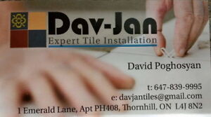 Dav-Jan Expert Tile Installation