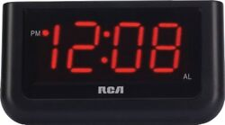 Digital Alarm Clock 7 LED Large Digit Number Home Office Desk Table Portable